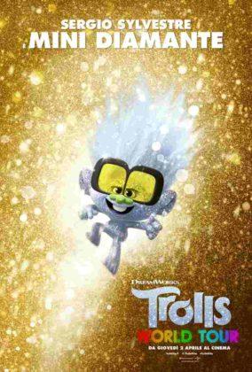 Trolls World Tour - Mini Diamante