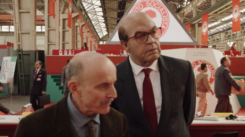 Hammamet - Pierfrancesco Favino e Giuseppe Cederna
