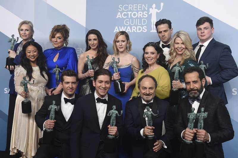 Il cast di La fantastica signora Maisel - SAG Awards 2020