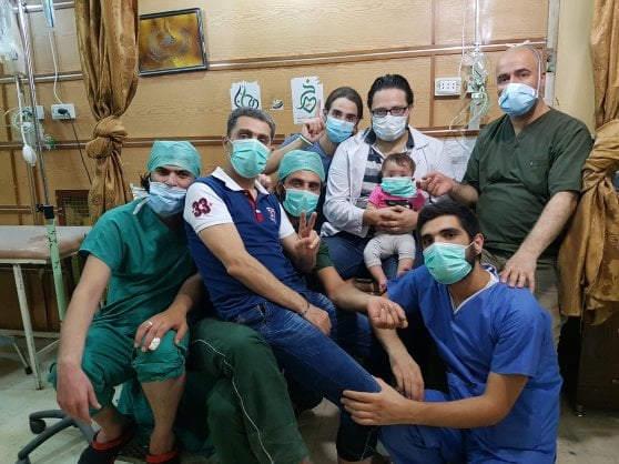 Alla mia piccola Sama - volontari ospedale Aleppo
