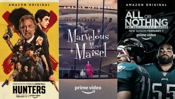 Amazon Prime Video - novità febbraio
