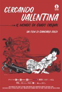Cercando Valentina - Il mondo di Guido Crepax - locandina