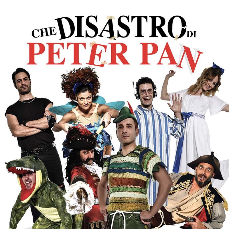 Che disastro di Peter Pan: il tour toccherà poi Torino, Roma e Imola per portare in scena la commediaoriginale di J.M.Barrie
