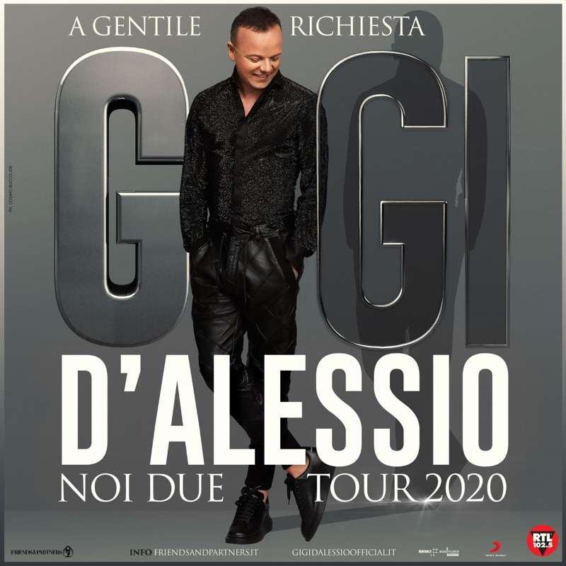 Gigi D'Alessio - Noi due tour locandina