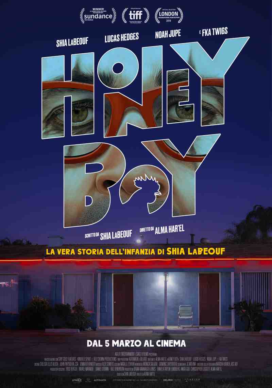 Honey Boy - poster