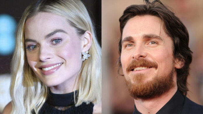 Margot Robbie e Christian Bale