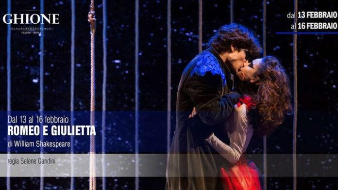 Romeo e Giulietta - locandina Teatro Ghione