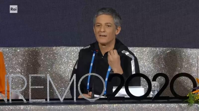 Sanremo 2020 - Fiorello in conferenza stampa seconda serata