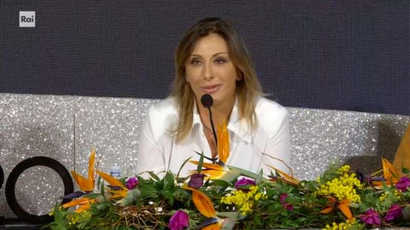 Sanremo 2020 - Sabrina Salerno in conferenza stampa seconda serata