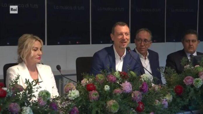 Sanremo 2020 - conferenza stampa quarta serata