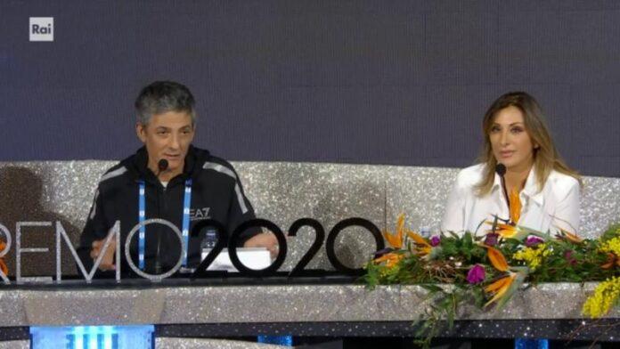 Sanremo 2020 - conferenza stampa seconda serata