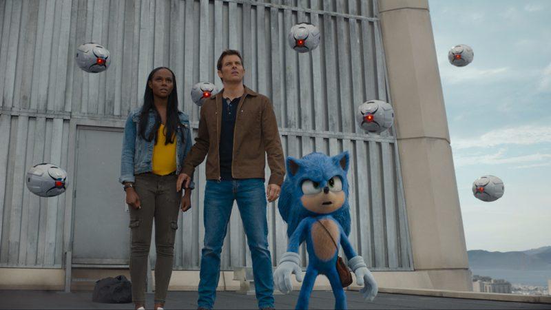 Scena di Sonic - Il film