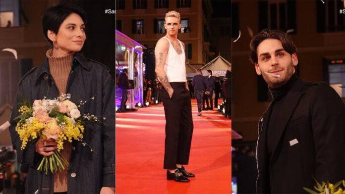 Sanremo 2020 red carpet