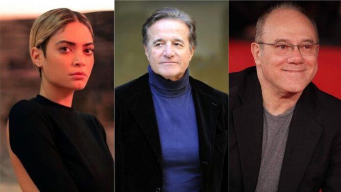 Christian De Sica,Carlo Verdone, Elodie