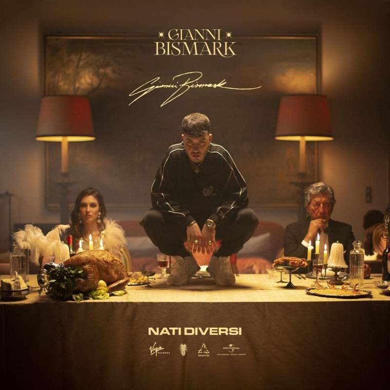 Gianni Bismark - Nati diversi cover