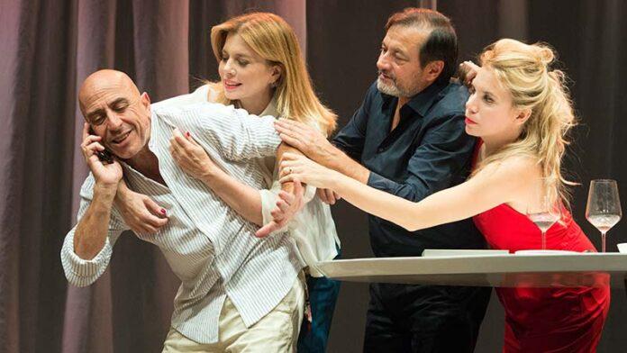 Il test: al Teatro della Cometa in scena Ciufoli, Boccoli, Colombari e Biacchi