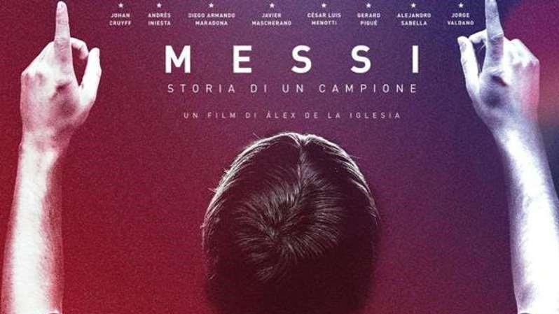 Messi – Storia di un campione- locandina