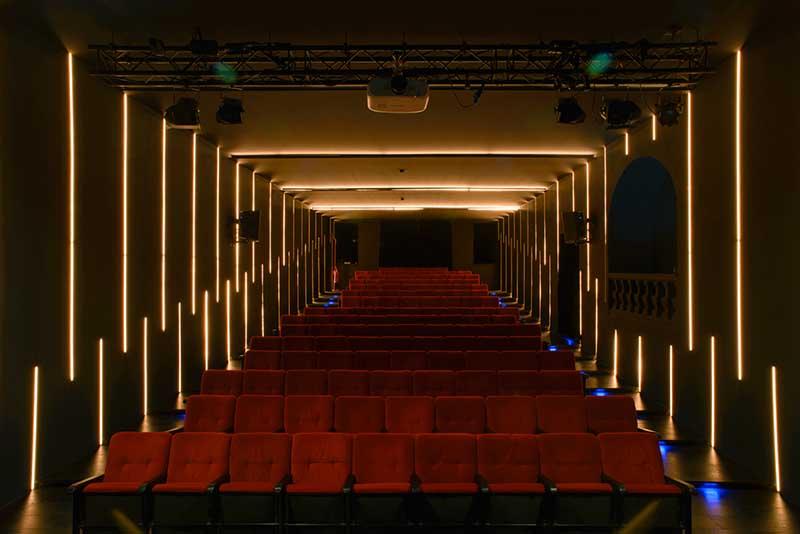 I 130 posti dell'Off/Off Theatre