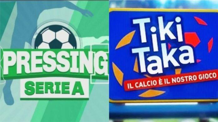 Pressing Serie A - Tiki Taka