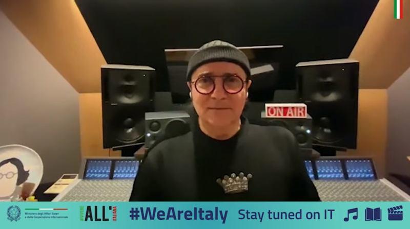 Renato Zero - Amico - WeAreItaly