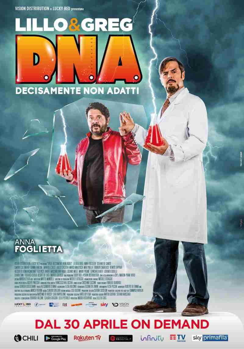 D.N.A. (Decisamente Non Adatti) - poster