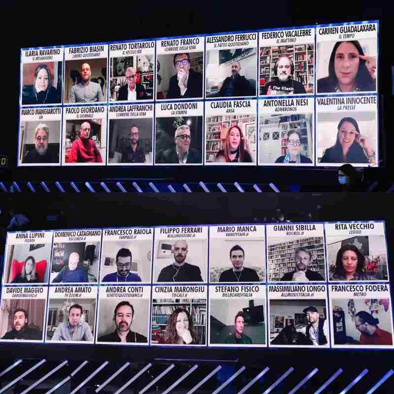 I giornalisti - Amici 2020
