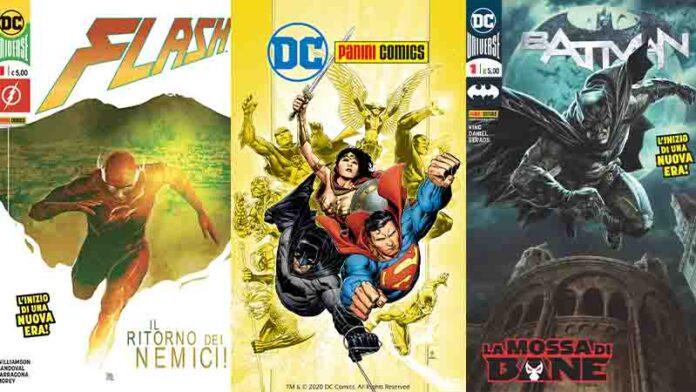 Parte DC Panini Comics: una nuova era per Superman, Batman e tutti i supereroi