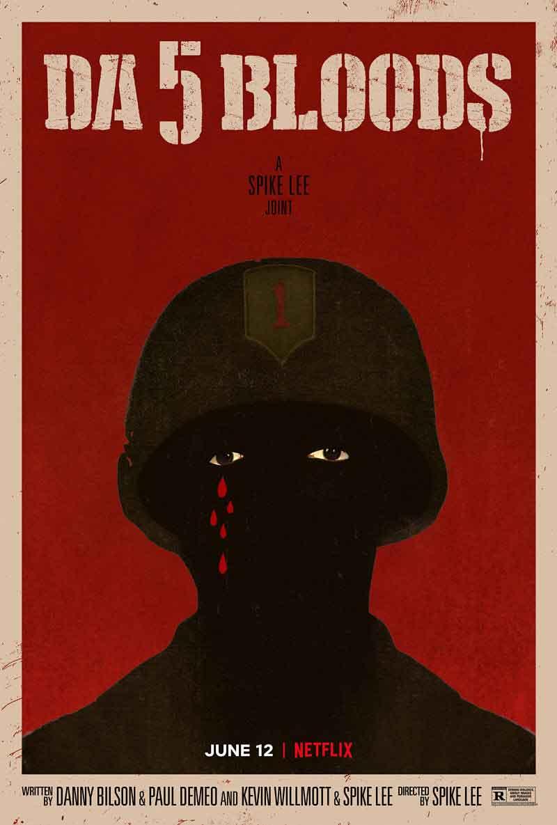 Da 5 bloods: Il premio Oscar Spike Lee racconta la storia di quattro veterani afroamericani che ritornano in Vietnam: Paul (Delroy Lindo), Otis (Clarke Peters), Eddie (Norm Lewis) e Melvin (Isiah Whitlock Jr.)