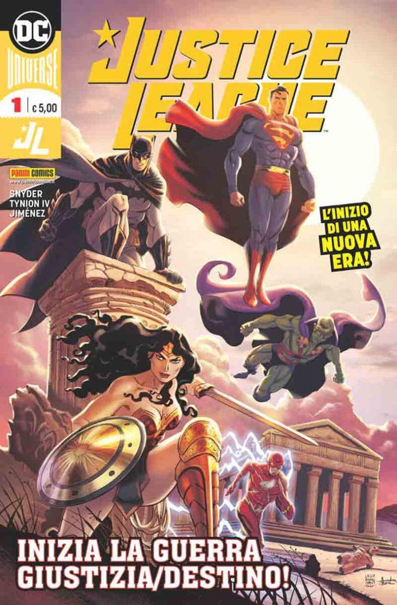 Le serie principali dell'Universo DC saranno dieci, distinte in albi spillati monografici confezionati con carta ad alta grammatura e tecniche di stampa all'avanguardia