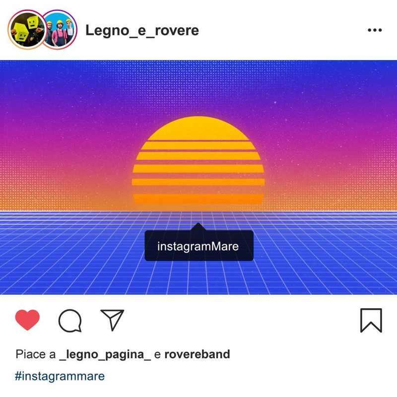 Legno e rovere - InstagramMare cover