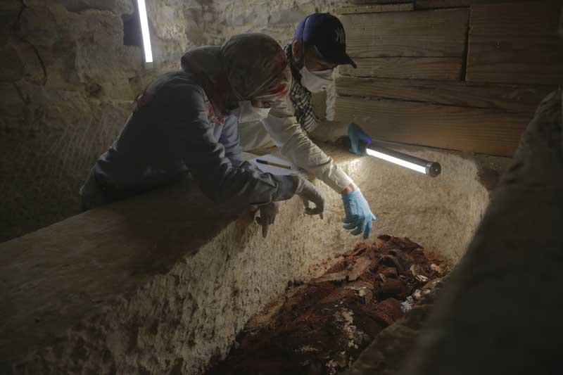 """Il 4 giugno su National Geographic le immagini dello straordinario rinvenimento della prima camera funeraria intatta dell'antico Egitto con """"Mummie: misteri nelle piramidi"""""""