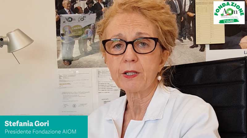 Campagna contro il Tumore Ovarico: Stefania Gori, Presidente Fondazione AIOM
