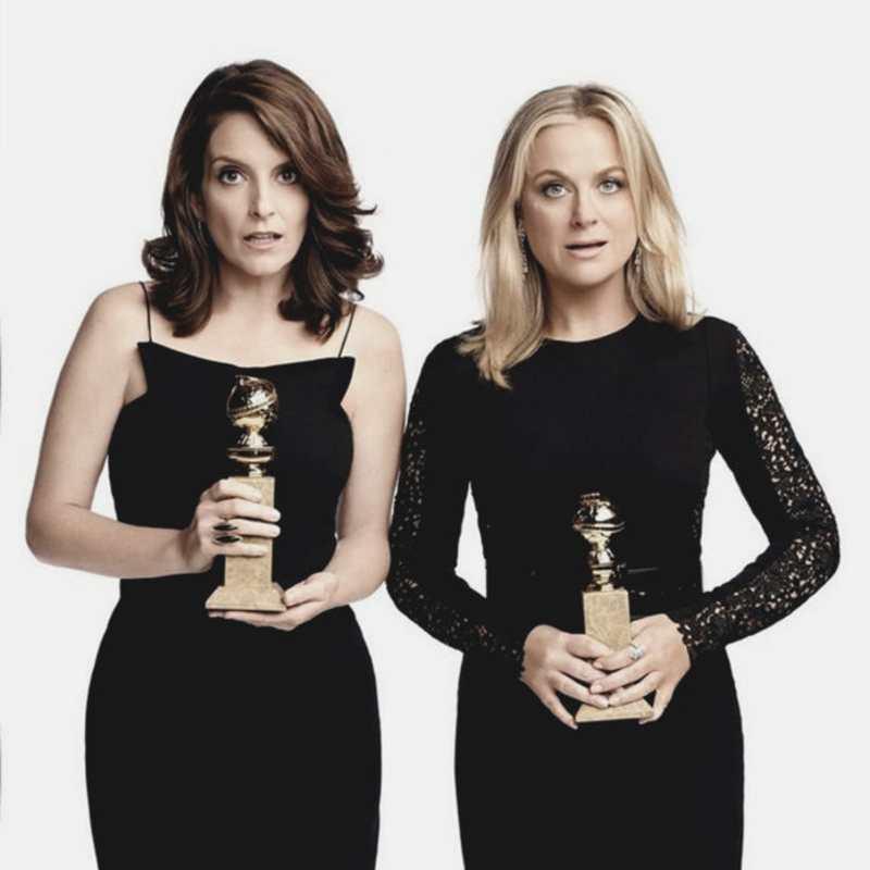 Golden Golbe 2021 - Le conduttrici Tina Fey e Amy Poehler