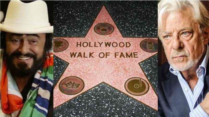 Walk of Fame - Luciano Pavarotti e Giancarlo Giannini