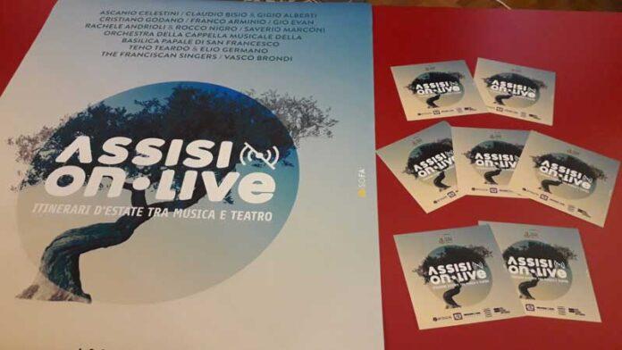 Assisi OnLive 2020: in programma Bisio, Celestini e Germano