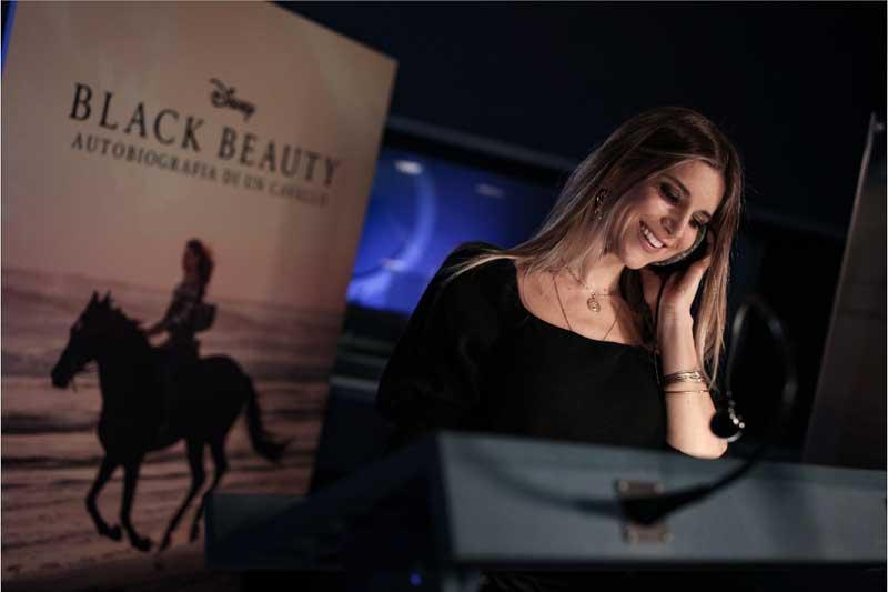 """NicolettaRomanoff è la voce narrante di """"Black Beauty"""" nella versione italiana"""