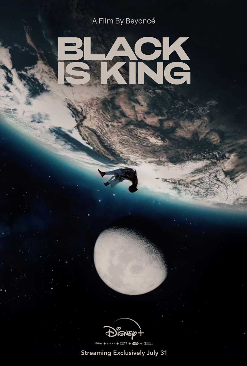 Black is king - poster