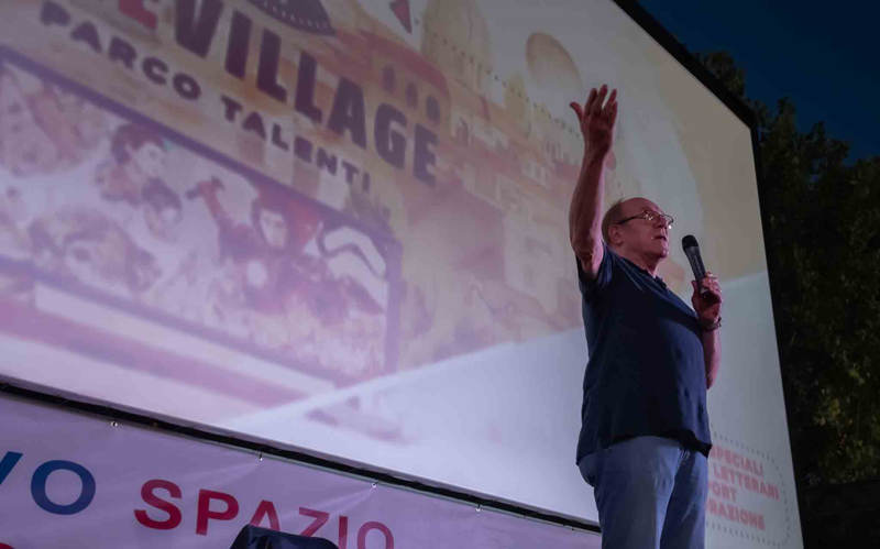 Carlo Verdone al Cinevillage Talenti 2