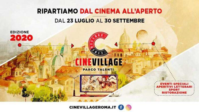CineVillage Parco Talenti. 2020