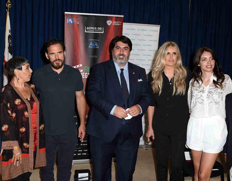 Filming Italy Sardegna Festival 2020 - María Isabel Díaz Lago, Matt Dillon, Christian Solinas, Tiziana Rocca e Ilenia Pastorelli