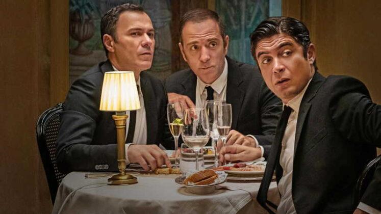 Gli infedeli - Massimiliano Gallo, Valerio Mastandrea e Riccardo Scamarcio