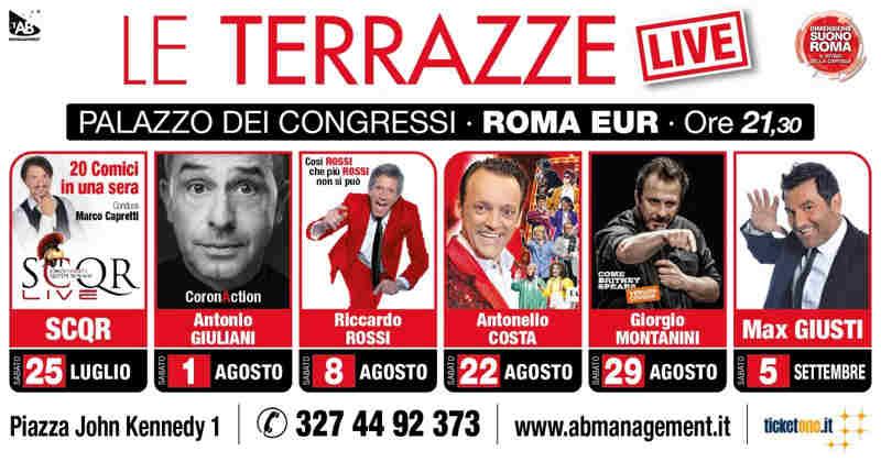 Le Terrazze Live 2020 - banner