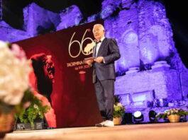 Taormina Film Fest 2020 - Cerimonia di premiazione - Leo Gullotta