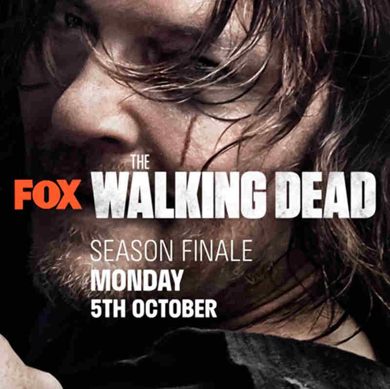 The Walking Dead 10 finale - banner