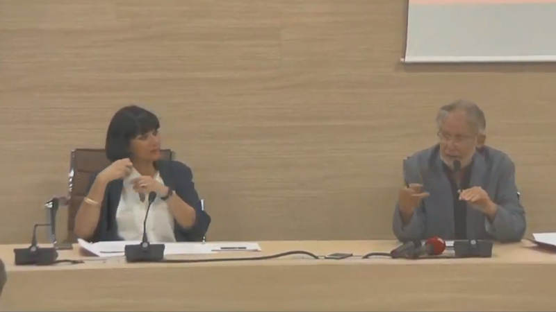 Bif&st 2020 - Conferenza stampa - Simonetta Dellomonaco e Felice Laudadio