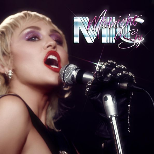 Miley Cyrus - Midnight Sky cover