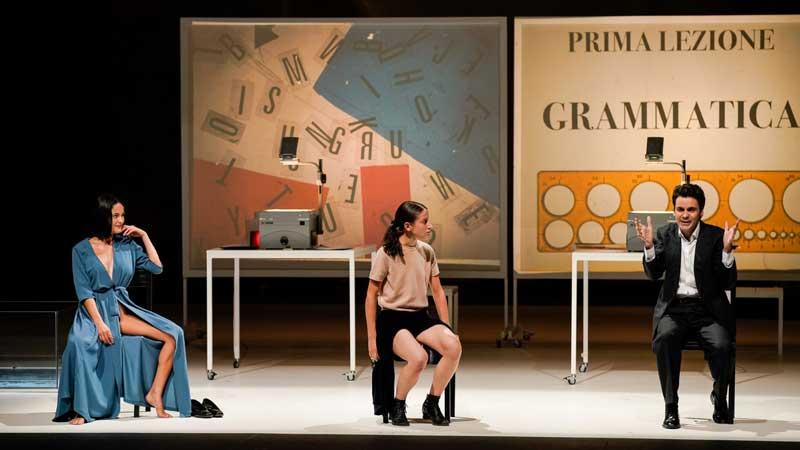 La filosofia nel boudoir - adattamento e traduzione di Fabio Condemi ©photo Andrea Avezzù
