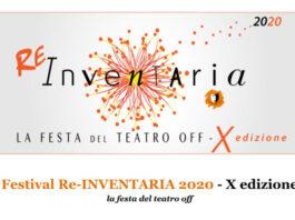 Festival Inventaria 2020 - La festa del teatro off: il programma completo