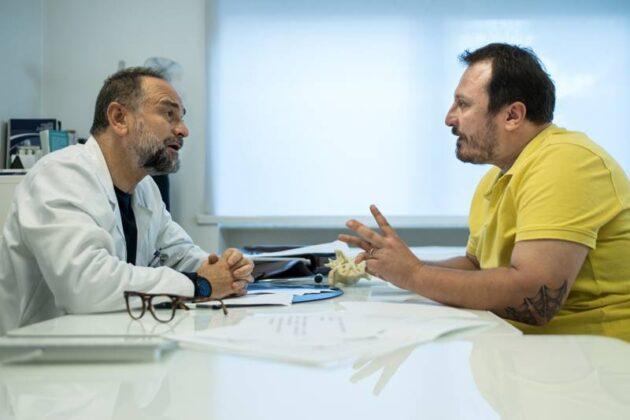 I predatori - Massimo Popolizio e Giorgio Montanini (foto Matteo Vieille)