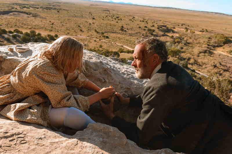 Notizie dal mondo - Helena Zengel e Tom Hanks (2)